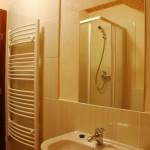 Современные санузлы (Туалет, душ, полотенцесушка, умывальник, фен, полотенца)